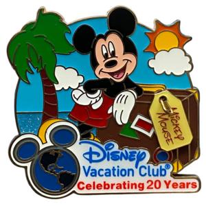 Disney Vacation Club 20 years pin