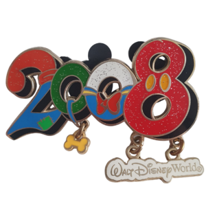 2008 Character Pin - Walt Disney World pin