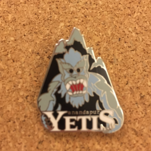 Disney Mascot: Anandapur Yetis pin
