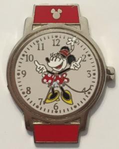 Minnie Mouse - Hidden Mickey Watch pin