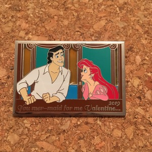 The Little Mermaid 2019 Valentine's Day  pin