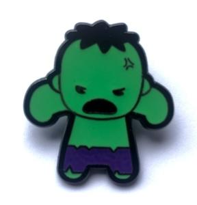 Angry Hulk Kawaii pin