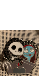 NBX jack and sally pin pin