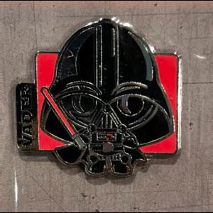 Darth Vader cutie booster pin