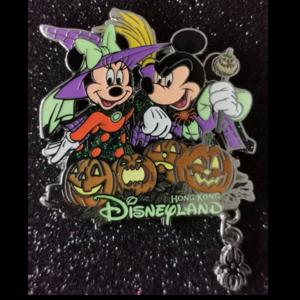 HKDL Halloween 2015 Mickey and Minnie  pin