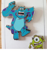 Sulley and Mike pin