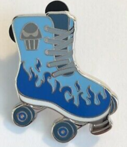 Hades - Magical Mystery Roller Skate pin