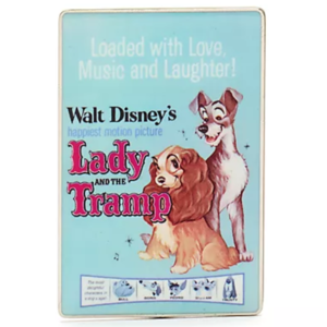 Lady and the Tramp - Disney Vintage posters pin