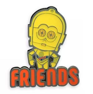 C-3PO FRIENDS Her Universe pin