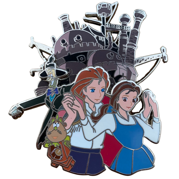 Beast's Moving Castle pin