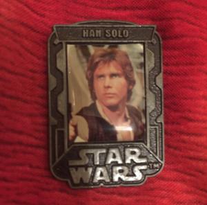 Star Wars Episode III Han Solo pin