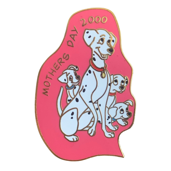 pin Dalmatian Mother's Day 2000