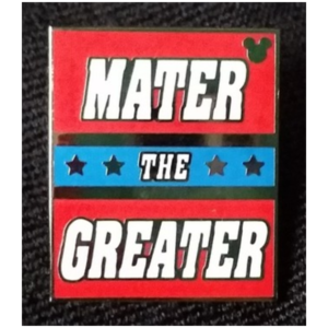 Mater The Greater pin